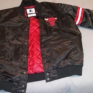 Men's Chicago Bulls Starter Jacket
